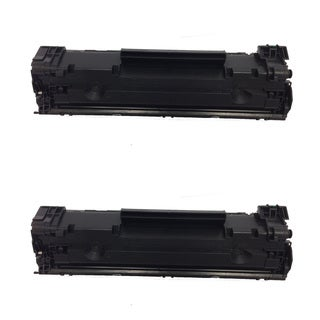 HP CF283A Black Toner Cartridge for HP LaserJet M127fn/ M127fw (Pack of 2)