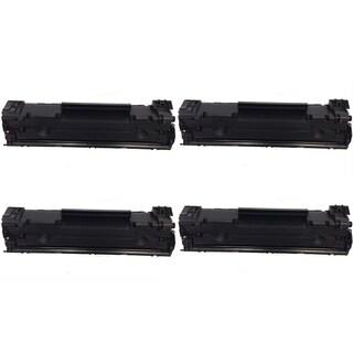 HP CF283A Black Toner Cartridge for HP LaserJet M127fn/ M127fw (Pack of 4)