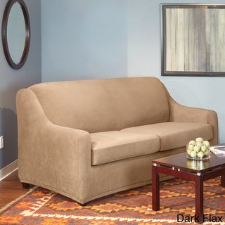 Shop Sure Fit Stretch Pearson Full 3 Piece Sleeper Sofa