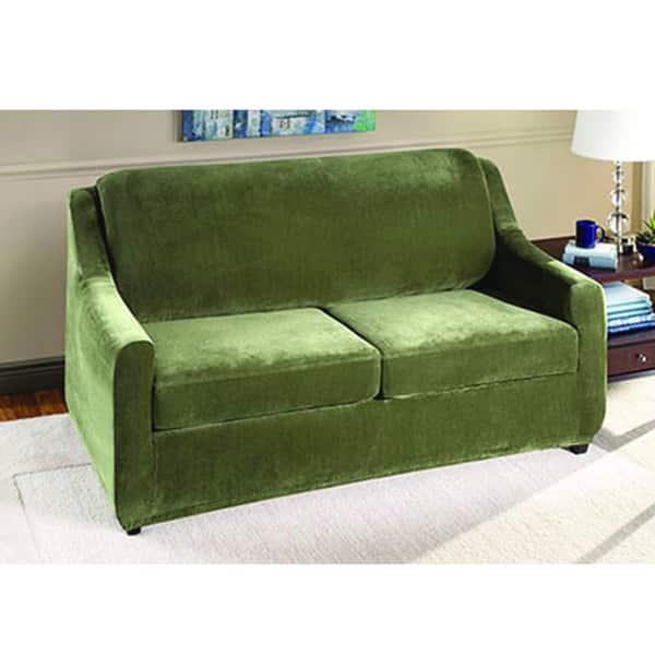 Shop Sure Fit Stretch Pearson Full 3-piece Sleeper Sofa ...