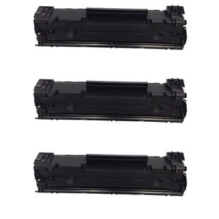 HP CF283A Black Toner Cartridge for HP LaserJet M127fn/ M127fw (Pack of 3)