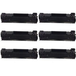 HP CF283A Black Toner Cartridge for HP LaserJet M127fn/ M127fw (Pack of 6)