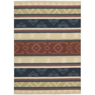 Nourison India House Multicolor Rug (5' x 8')