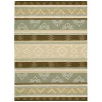 Nourison India House Sage Rug - 5' x 8'