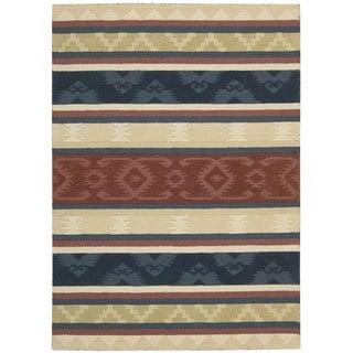 Nourison India House Multicolor Rug (3'6 x 5'6)