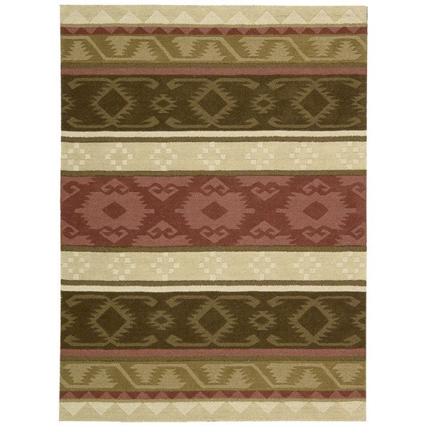 Nourison India House Espresso Rug (8' x 10'6)