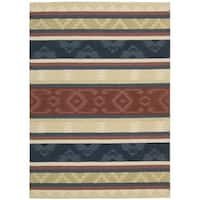 Nourison India House Multicolor Rug - 2'6 x 4'