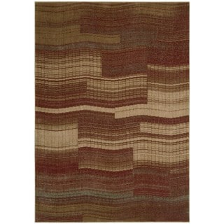 Nourison Somerset Flame Red Rug (3'6 x 5'6)