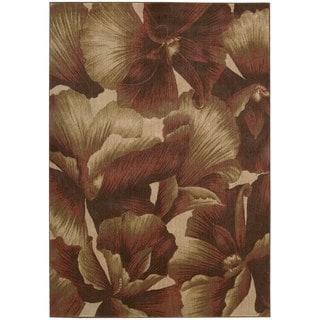 Nourison Somerset Floral Multicolor Rug (5'6 x 7'5)