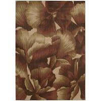 Nourison Somerset Floral Multicolor Rug - 7'9 x 10'10
