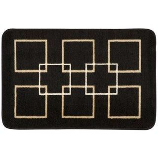 Nourison Accent Decor Black Rug (1'8 x 2'6)