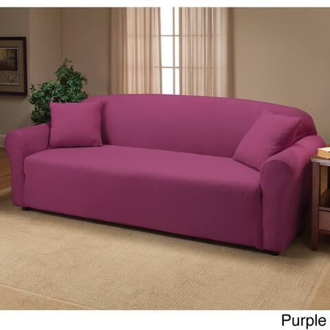 Purple Sofa Couch Slipcovers