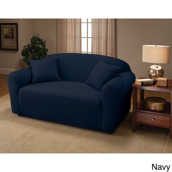 Stretch Sofa Slipcover   Free Shipping On Orders Over $45   Overstock.com    16312427