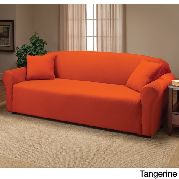 Amazing Stretch Sofa Slipcover   Free Shipping On Orders Over $45   Overstock.com    16312427