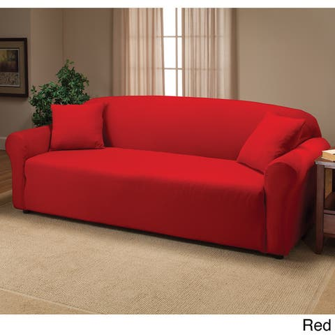 Buy Red Sofa & Couch Slipcovers Online at Overstock | Our ...