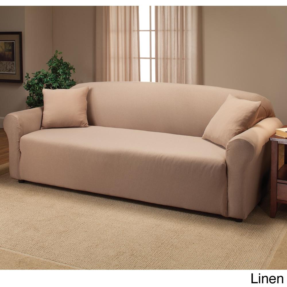Stretch Sofa Slipcover On