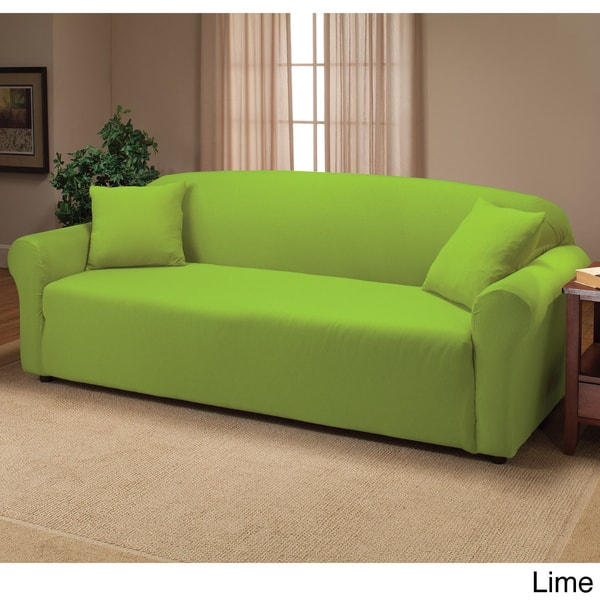 Shop Stretch Sofa Slipcover - Free Shipping On Orders Over ...