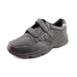 Propet Women's 'Stability Walker Strap' Leather Athletic Shoe - Extra Wide (Size  16 )