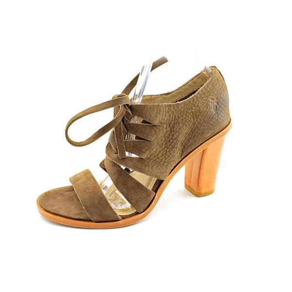 f5c4835d6db7 Shop Frye Women s  Sofia Tie On  Leather Sandals - Free Shipping ...