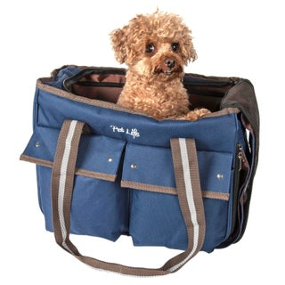 Pet Life Fashion Canvas Pet Carrier - One size