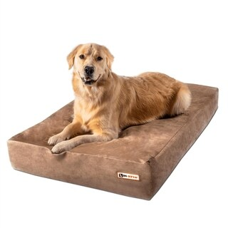 Big Barker 7-inch Pillowtop Orthopedic Dog Bed Sleek Edition