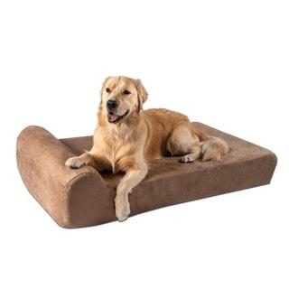 """Big Barker 7"""" Orthopedic Dog Bed - Headrest Edition"""