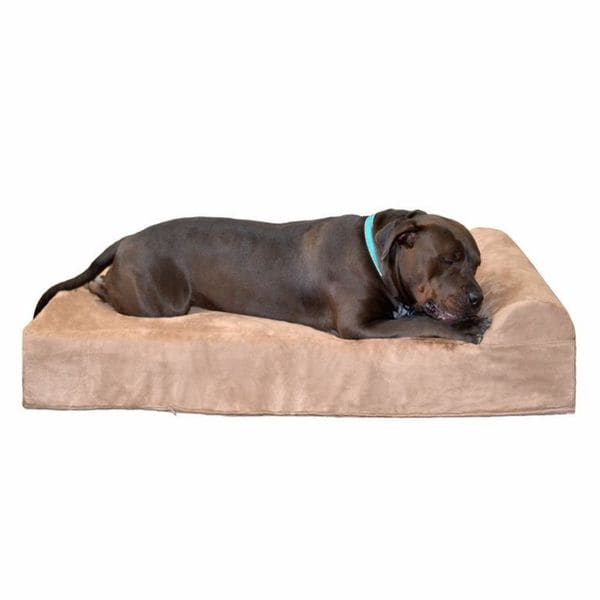 Big barker 7 inch pillowtop orthopedic dog bed headrest for Big barker pet bed
