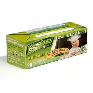 JigALoo EconoGreen Lawn and Leaf Bags (Pack of 8)