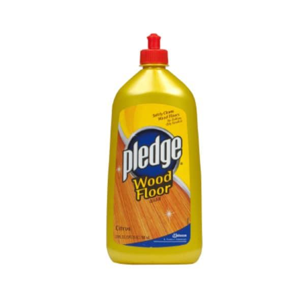 Pledge 27 Ounce Wood Floor Cleaner Pack 6 Free