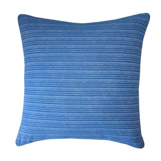 Kioto Lines Blue Decorative Throw Pillow