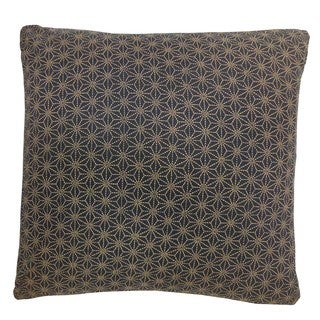 Kioto Star Blue Decorative Throw Pillow