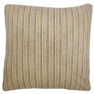 Kioto Lines Cream Decorative Throw Pillow