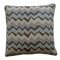 Serpentine Grey Decorative Throw Pillow