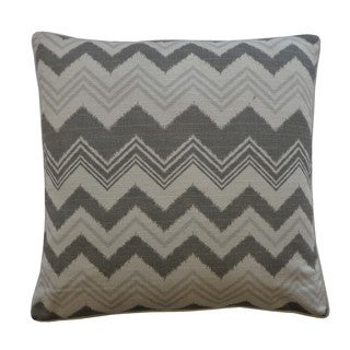 Weave Grey Decorative Throw Pillow