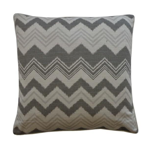 Handmade Weave Gray Decorative Pillow