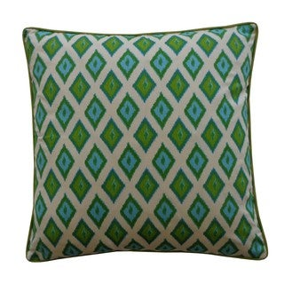 Kite Green Decorative Throw Pillow