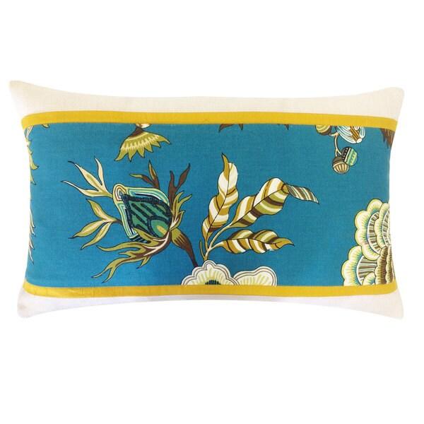 Handmade Jazmin Pieces Jade Decorative Pillow