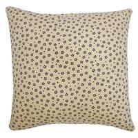 Kioto Diana Cream Decorative Throw Pillow