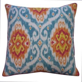 Kylinni Orange Decorative Throw Pillow