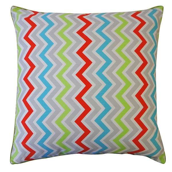 """Handmade Up and Down Decorative Pillow - 20"""" x 20"""""""