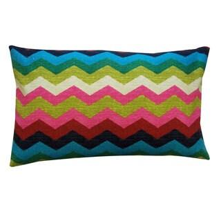 Handmade Salta Pink Decorative Pillow