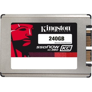 "Kingston SSDNow KC380 240 GB 1.8"" Internal Solid State Drive"