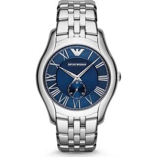 Armani AR1789 Classic Blue Dial Silver Watch