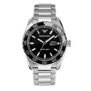 Armani Men's AR6047 Sportivo Silver Stainless Steel Watch