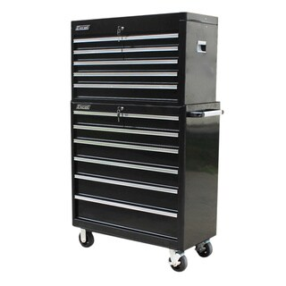 Excel 36-inch Top Chest and Steel Roller Cabinet Combo