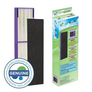 GermGuardian FLT4850PT True HEPA with Pet Pure Treatment GENUINE Replacement Filter B for AC4800/AC4900 Series Air Purifiers
