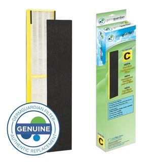 GermGuardian FLT5000 True HEPA GENUINE Replacement Filter C for AC5000 Series Air Purifiers