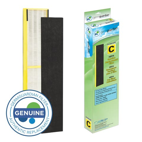 GermGuardian FLT5000 True HEPA GENUINE Replacement Filter C for AC5000 Series Air Purifiers - Green