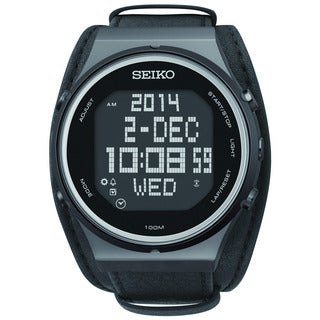 Seiko Men's STP017 World Time Digital Watch