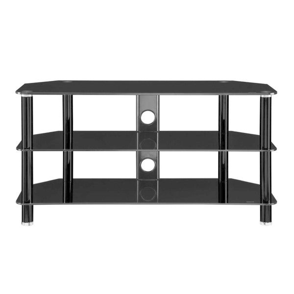 Shop Innovex Concord Black Tv Stand Free Shipping Today
